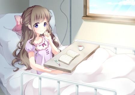 """Résultat de recherche d'images pour """"manga brown hair girl hospital"""""""