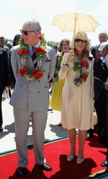 Charles et Camilla à Zanzibar