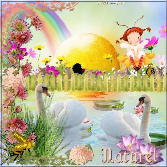 vos créations 5 avec mon cluster fleurs de printemps - nature