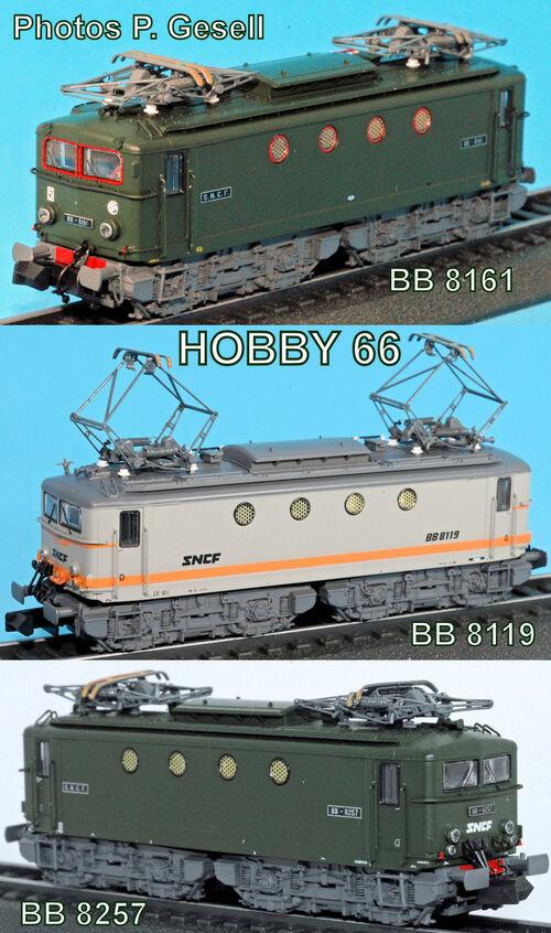 Hobby 66 - Les BB 8100, suite