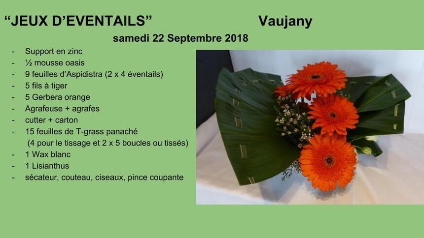 """Vaujany """"Jeux d'éventails"""""""