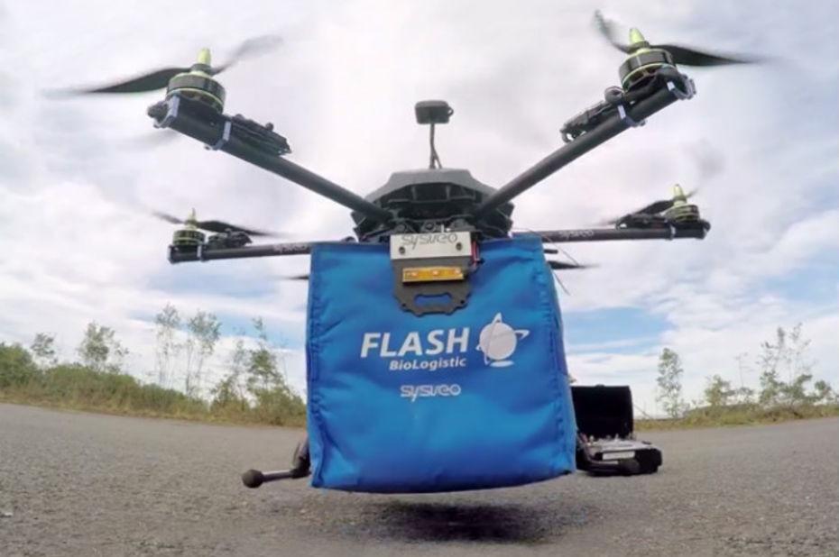 Bordeaux teste la livraison de médicaments par drones autonomes