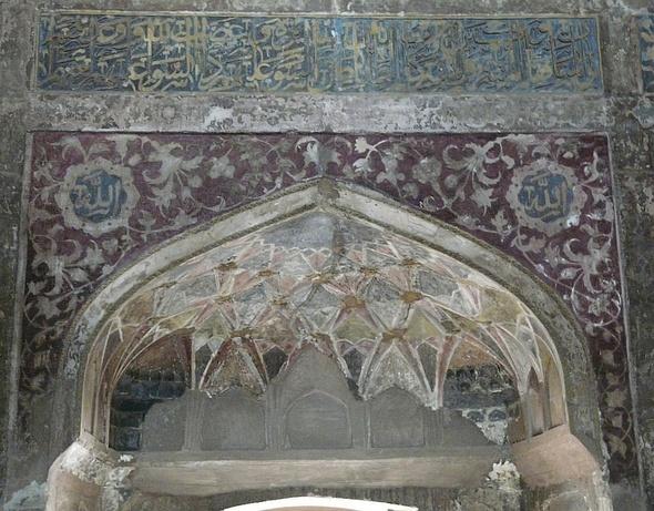 Chini-ki-Rauza; les décors intérieurs;