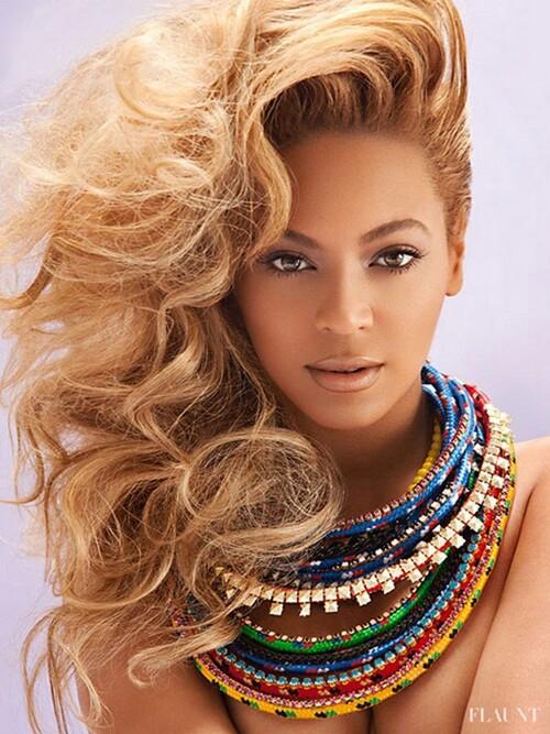 "Beyonce "" Flaunt"" Magazine"