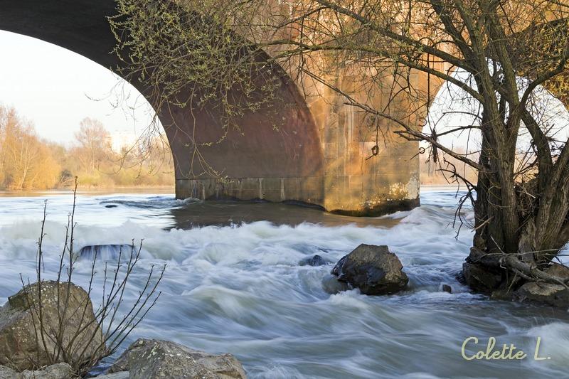 De l'eau a coulé sous le pont !
