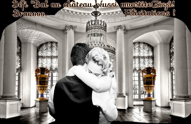 """Défi """"Bal au château:Récompenses mes minettes et minet*"""