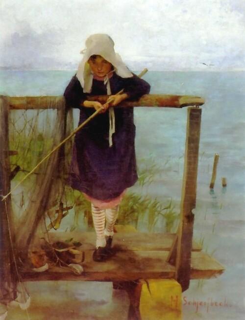 Samedi - Hélène Schjerfbeck