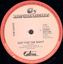 Kim Davis - Just For The Night