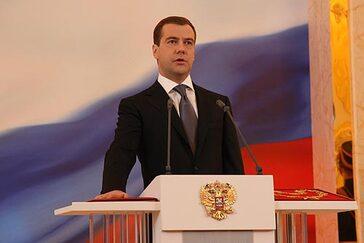 Medvedev, président de la Fédération de Russie