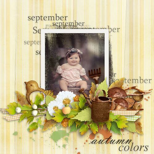 September Garden by dentelle scrap