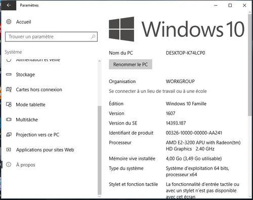 Windows 10 sa maj est toujours gratuit