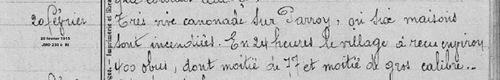07*1915 Février - Einvile,  Parroy
