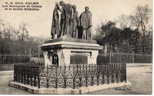 L'histoire des 6 Bourgeois de Calais