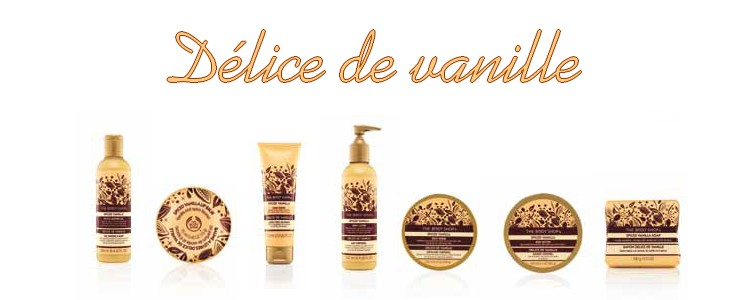 ღ Christmas by The Body Shop | Délice de vanille