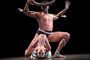 dance ballet the myth of the minotaur martha graham ballet