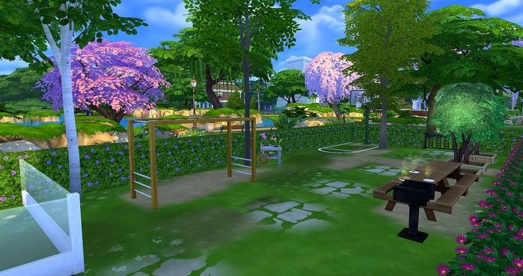 L'immeuble Tilleuls par meliaone Sims 4