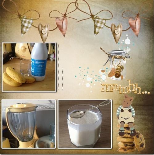 la petite recette du mercredi (lait banane)