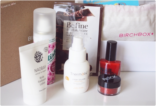 Ma BirchBox de Juin ~ Be Happy