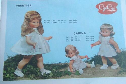 Les Gégé années 60