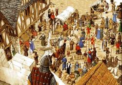 ville au moyen age