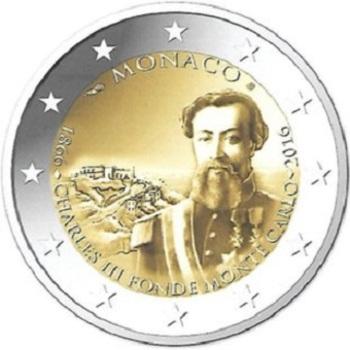 MONACO UNE PIECE DE 2 EUROS POUR LES 150 ANS DE MONTE-CARLO