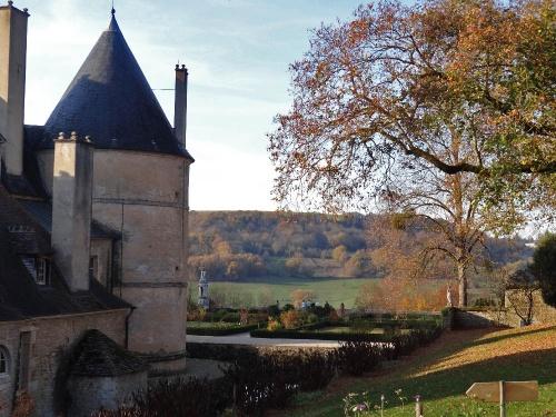 Retour au château de Bussy-Rabutin...