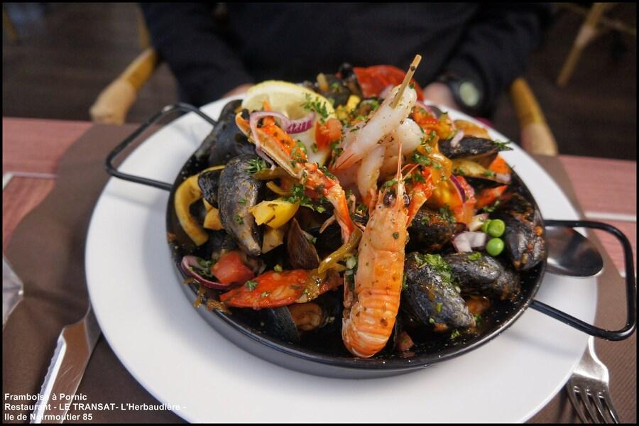 Parillada Restaurant le Transat L'herbaudière à Noirmoutier