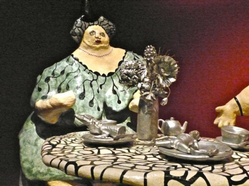 Niki de Saint-Phalle méres dévorantes Thé Angelina 70817