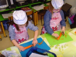 Atelier-cuisine : le gâteau à la carotte