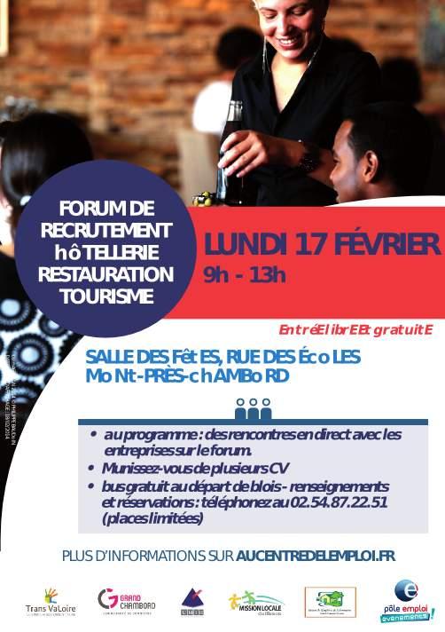 Flyer forum emploi Mont-près-Chambord