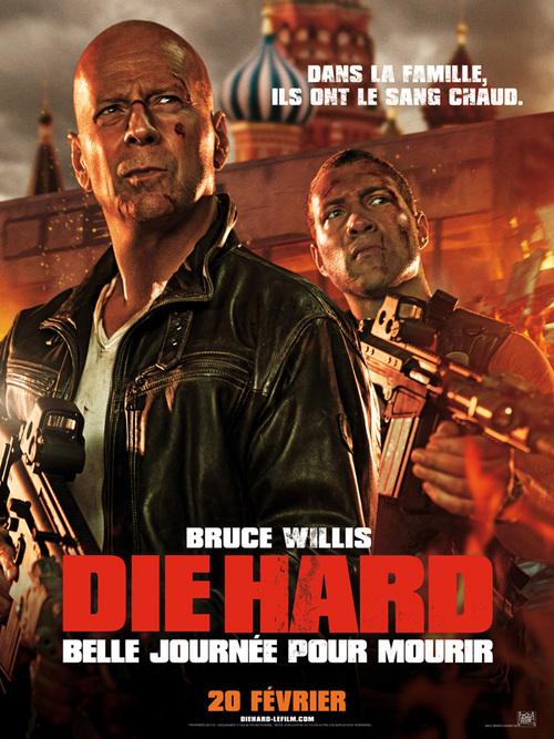 "Bonsoir, a l'honneur : "" Die hard 5 """