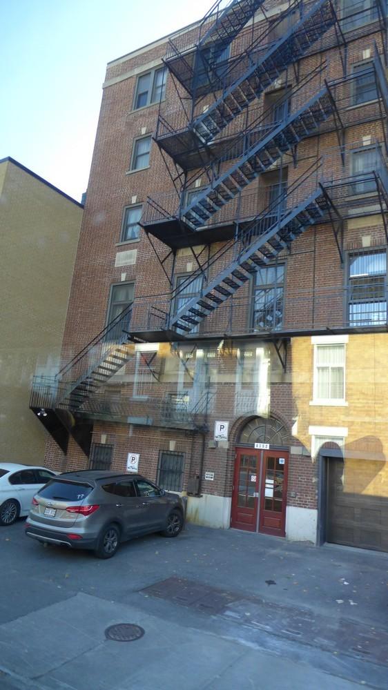 Montréal : les escaliers extérieurs...