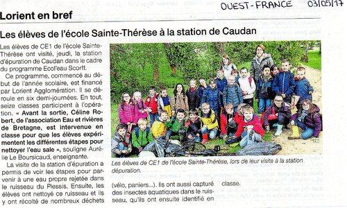 Article presse CE1