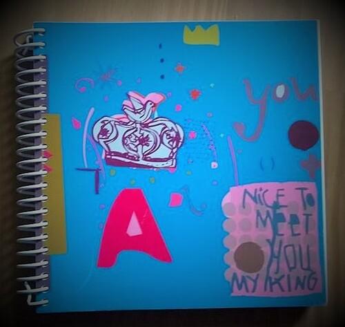 Mon matériel créatif: les carnets