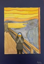 Le Cri d'Edvard Munch