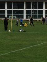 Deuxième entraînement de foot !