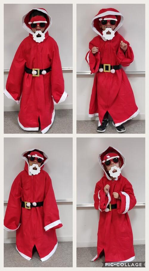 Les MS en Père Noël...