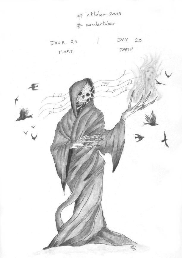#Inktober Jour 29 Mort