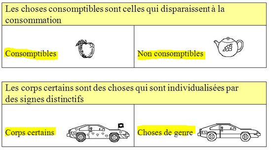 La classification des choses