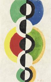 Les galettes à la façon de Robert Delaunay