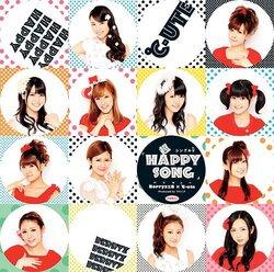 Cover du Single V de Chou HAPPY SONG
