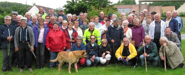 60 participants à la marche cantonale des Aînés