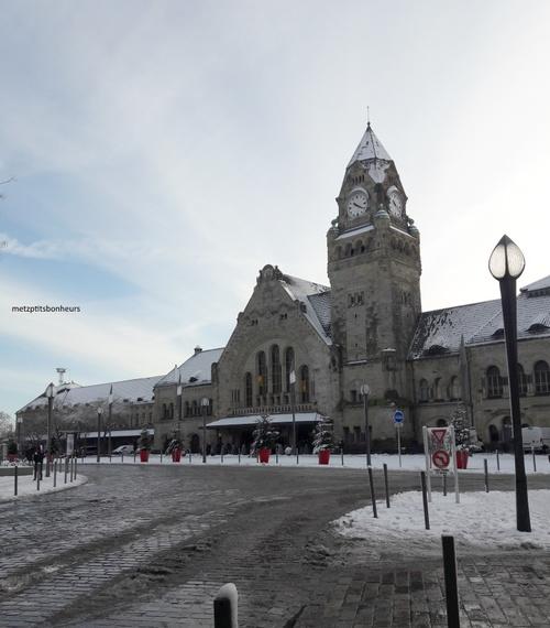 Metz sous la neige...