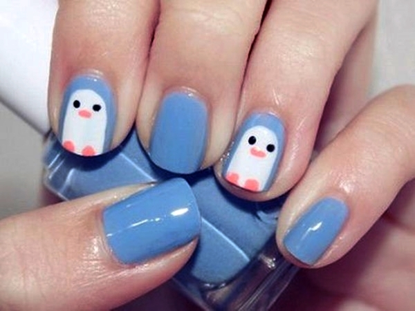 Simple Nail Art Designs for Short Nails14
