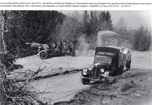 *Etape n° 46 -  L'investissement du Massif de l'AUTHION - Journée du 11 avril 1945