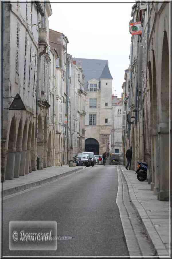 La Rochelle rue du Minage