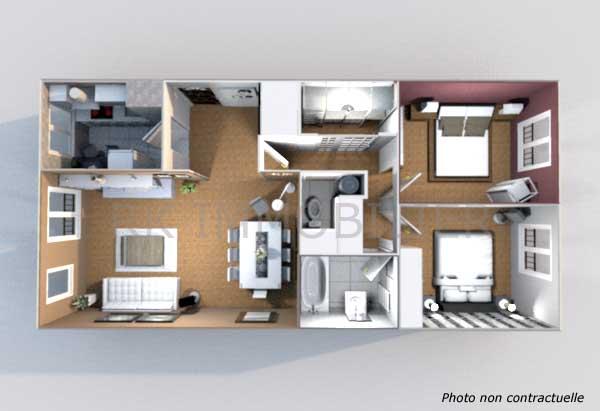 Plans 3D - Rk Immobilier