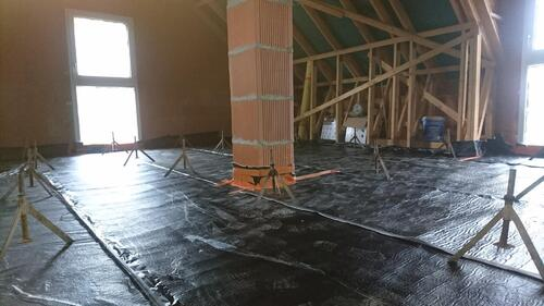 La préparation de l'étage