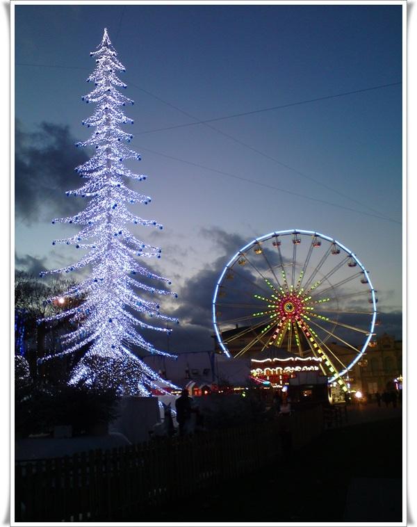 Carcassonne aux couleurs de Noël