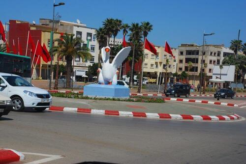 L'entrée de Kénitra